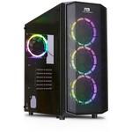 Power Boost X-58 Usb 3.0 Mesh 4 X Rainbow Fixed Led Fanlı Gaming Kasa (psu Yok)