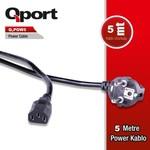 Q-Port Q-pow5 Pc Power Kablosu 5 Metre