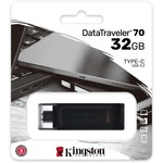 Kingston 32gb Dt70 Data Traveler Type C Dt70/32gb