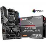 MSI Mag X570 Tomahawk Wıfı Am4 Ddr4 4600 Mhz (oc) 2x M.2 Usb 3.2 Hdmı Rgb Atx