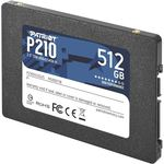 "Patriot P210s512g25 512gb P210 Sata 3.0 520-430mb/s 7mm 2.5"" Flash Ssd"
