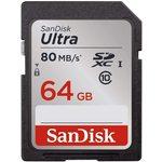 SanDisk 64 Gb Sdsdunr-064g-gn6ın 90/mb 64gb Ult Sd C10