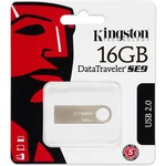 Kingston 16gb Usb 2.0 Metal Kasa Dtse9h/16gb