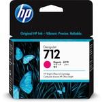 HP 3ed68a (712) Kırmızı Murekkep Kartus