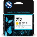 HP 3ed69a (712) Sarı Murekkep Kartus