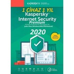 Kaspersky Internet Security Premium 2020 Türkçe 1 Cihaz 1 Yıl, (sadece Şifre