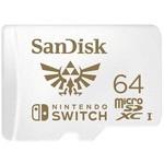 SanDisk Nintendo Switch 64GB MicroSDXC Kart (SDSQXAT-064G-GNCZN)