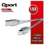 Q-Port Q-pr1.5 Usb 2.0 1.5m Yazıcı Kablosu