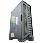 GameBooster Gb-g5180b 600w 80+ Atx Usb 3.0, Abs+mesh, Argb Fan, Siyah Kasa