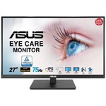 Asus Va27aqsb 27 Ips Freesync 2560x1440 1ms(mprt) 75hz Dp Hdmı Usb X2 Mm Vesa 3yıl