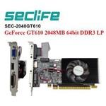 SecLife Gt610 2gb 64bit Ddr3 16x