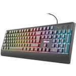 Trust 23761 Zıva Rainbow Led Işıklı Kablolu Usb Gaming Klavye