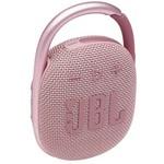 JBL Clip4 Bluetooth Hoparlr Ip67 Pembe