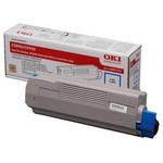 OKI 43865741 Sarı Toner - 6000 Sayfa