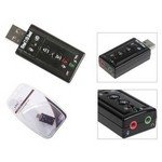 S-Link Sl-u61 Usb 2.0 Çıkıştan 7.1 Kanal Çıkış Sağlayan Ses Adaptörü. U