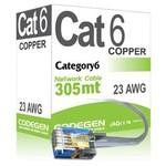 Codegen Cod603 305 Metre Utp 23awg 0,51mm Cat6 Network Kablosu Mavi Renk