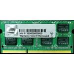 G.Skill F3-10666CL9S-4GBSQ SODIMM, 4GB PC10600 1333MHz