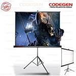 Codegen COD-TX-24 240X200 PRO PORTATIF PERDE SİYAH FONLU