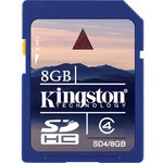 Kingston 8gb Secure Dıgıtal Kart Bellek Sd4/8gb