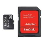 Sandisk 8gb Adaptörlü Hafıza Kartı - SDSDQM-008G-B35A