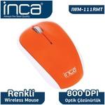 Inca IWM-111RMT Kablosuz Mouse - Turuncu