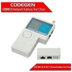 Codegen Cod013 Rj-45/ Rj-11/ Usb/ Bnc Network Kablosu Test Cihazı