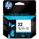 HP C9352AE 22 Üç Renkli Kartuş