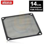 Akasa 14cm Alüminyum Fan Filtresi (AK-GRM140-AL01-BK)