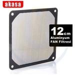 Akasa 12cm Alüminyum Fan Filtresi (AK-GRM120-AL01-BK)