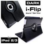 Dark Dk-ac-ıpkrt01 Ipad 2/3/4 Uyumlu 360 Derece Dönebilen Smart Cover Siyah Renk