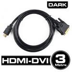 Dark 3m Dvı - Hdmı Çift Yönlü Görüntü Bağlantı Kab