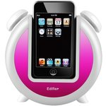 Edifier iF200 Plus Alarmlı Dock Speaker - Pembe