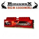 G.Skill F3-10666CL9S-8GBXL RipjawsX DDR3-1333Mhz CL9 8GB (9-9-9) 1.5V