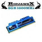 G.Skill F3-1600C9S-8GXM RİPJAWSX DDR3-1600Mhz CL9 8GB (9-9-9) 1.5V