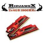 G.Skill RipjawsX 2x4GB Desktop Bellek (F3-14900CL9D-8GBXL)
