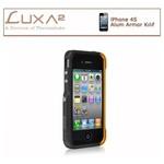 Luxa2 Iphone Alum Armor Aluminyum Kılıf - Siyah Altın