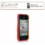Luxa2 Iphone Alum Armor Aluminyum Kılıf - Kırmızı Altın