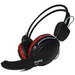 Frisby Fhp-235 Mikrofonlu Kulaklık Siyah-kırmızı