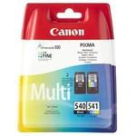 Canon PG-540+CL-541 2'li Siyah + Renkli Kartuş