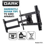 """Dark Dk-ac-vt31 32""""-70"""" Hareketli Duvar Tv Askı Aparatı"""