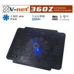 V-net 360z Notebook Cooler 15cm Fan 1xusb Port