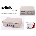 S-Link Sl-154c 4 Vga Switch