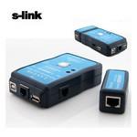 S-Link Sl-0411 Rj-45/rj-11 Usb Test Cihazı