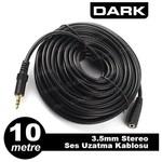 Dark DK-CB-AUEXTL1000 10 Metre 3.5mm. Jak Ses Uzatma 0su