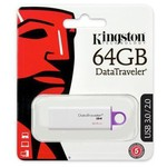 Kingston 64GB DataTraveler G4 USB 3.0 Bellek (DTIG4-64GB)