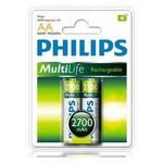 Philips R6b2a270-97 Phılıps 2700 Mah Aa Şarj Edilebilir Pil 2 Li
