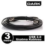 Dark Dk-cb-usb2extl300 3m Usb 2.0 Uzatma Kablosu