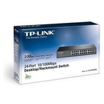 TP-Link TL-SF1024D 24-port 10-100Mbps Rackmount Switch
