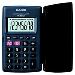 Casio 8 Haneli Cep Tipi Hesap Makinesi (HL-820LV-BK)