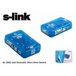 S-Link SL-2602 KVM Switch